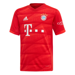 19-20 Bayern Munich Home Red Jerseys Shirt