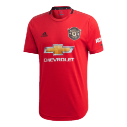 19-20 Manchester United Home Red Jerseys Shirt(Player Version)