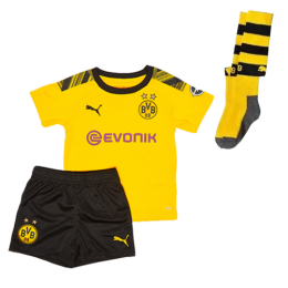 19/20 Borussia Dortmund Home Yellow Children's Jerseys Kit(Shirt+Short+Socks)