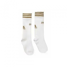 19/20 Real Madrid Home White Children's Jerseys Socks