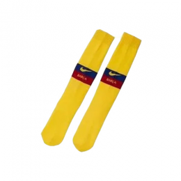 19/20 Barcelona Away Yellow Children's Jerseys Socks