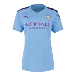 19/20 Manchester City Home Blue Women's Jerseys Shirt