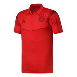 19/20 Bayern Munich Core Polo Shirt-Red
