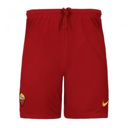 19/20 Roma Away Red Soccer Jerseys Short