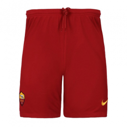 19/20 Roma Away Red Soccer Jerseys Short