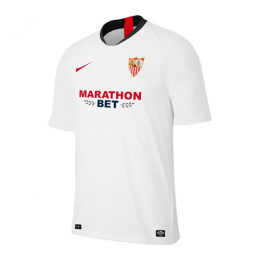 19/20 Sevilla Home White Soccer Jerseys Shirt