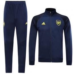 19/20 Arsenal Navy High Neck Collar Player Version Training Kit(Jacket+Trouser)