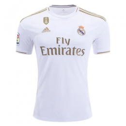 19-20 Real Madrid Home White Soccer Jerseys Shirt