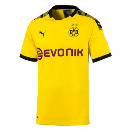 19-20 Borussia Dortmund Home Yellow Soccer Jerseys Shirt(Player Version)