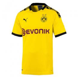 19-20 Borussia Dortmund Home Yellow Soccer Jerseys Shirt(Player Version)