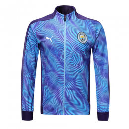 19/20 Manchester City Purple High Neck Collar Training Jacket(Player Version)