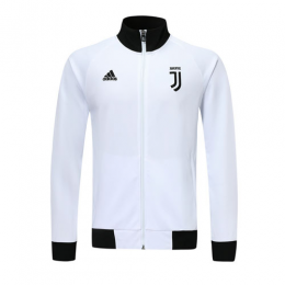 19/20 Juventus White High Neck Collar Training Jacket(Player Version)