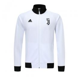 19/20 Juventus White High Neck Collar Training Jacket(Player Version)