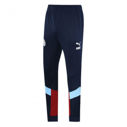 19/20 Manchester City Navy&Dark Red Training Trouser
