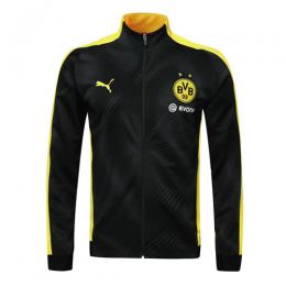 19/20 Borussia Dortmund Yellow High Neck Collar Training Jacket(Player Version)