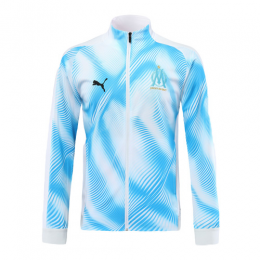 19/20 Marseilles Light Blue&White Training Jacket(Player Version)