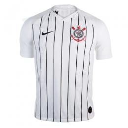 19-20 SC Corinthians Home White Jerseys Shirt