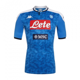 19-20 Napoli Home Blue Soccer Jerseys Shirt