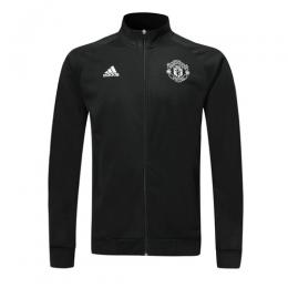 19/20 Manchester United Black High Neck Collar Training Jacket(Player Version)