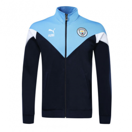 19/20 Manchester City Navy Training Jacket