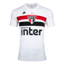19-20 Sao Paulo Home White Soccer Jerseys Shirt