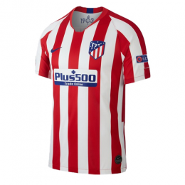 19/20 UCL Atletico Madrid Home Red&White Soccer Jerseys Shirt