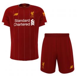 19-20 Liverpool Home Red Soccer Jerseys Kit(Shirt+Short)