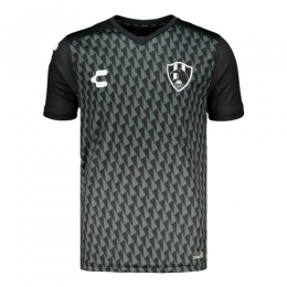 2019 Club De Cuervos Away Black Jerseys Shirt