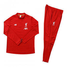 Kids 19-20 Liverpool Red Sweat Shirt Kit(Top+Trouser)