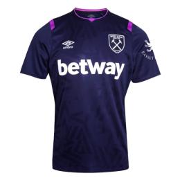19/20 West Ham United Third Away Purple Soccer Jerseys Shirt