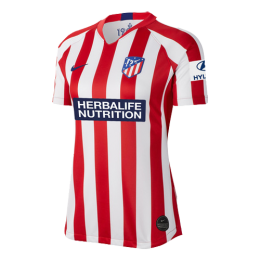 19/20 Atletico Madrid Home Red&White Women's Jerseys Shirt