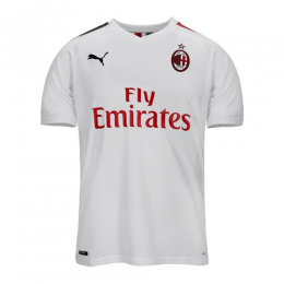 19/20 AC Milan Away White Soccer Jerseys Shirt(Player Version)
