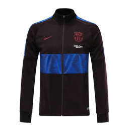 19/20 Barcelona Dark Red High Neck Collar Training Jacket