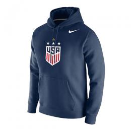 2019 USA NK 4-Star Crest Navy Hoody Sweater