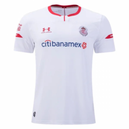 19/20 Deportivo Toluca Away White Jerseys Shirt