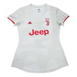 19/20 Juventus Away White Women's Jerseys Shirt