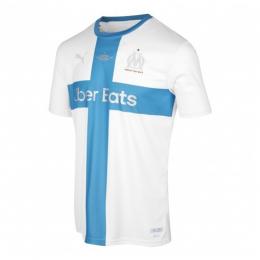 19/20 Marseille 120th Anniversary White Soccer Jerseys Shirt