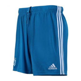19/20 Juventus Third Away Blue Soccer Jerseys Short