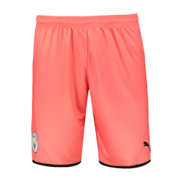 19/20 Manchester City Third Away Pink Jerseys Short
