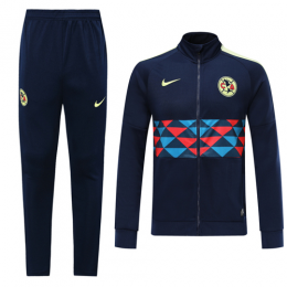 19/20 Club America Navy High Neck Collar Training Kit(Jacket+Trouser)