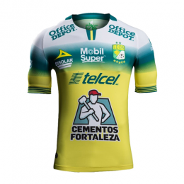 19/20 Club León Away Yellow Jerseys Shirt