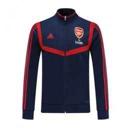 19/20 Arsenal Navy&Red High Neck Collar Training Jacket