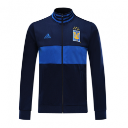 19/20 Tigres UANL Navy&Blue High Neck Collar Training Jacket