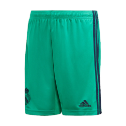 19/20 Real Madrid Third Away Green Soccer Jerseys Short