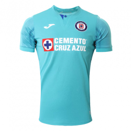 19/20 CDSC Cruz Azul Third Away Light Blue Soccer Jerseys Shirt