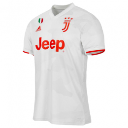 19/20 Juventus Away White Soccer Jerseys Shirt(Player Version)