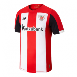 19/20 Athletic Bilbao Home Red&White Jerseys Shirt