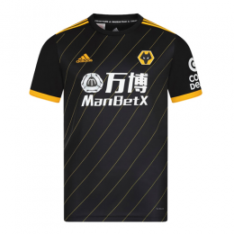 19/20 Wolverhampton Wanderers Away Black Soccer Jerseys Shirt