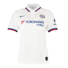 19/20 Chelsea Away White Women's Jerseys Shirt
