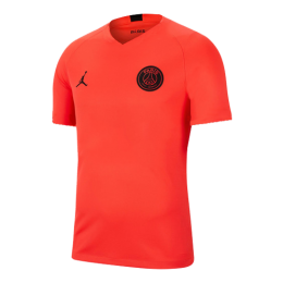 19/20 PSG Orange&Red Training Jerseys Shirt(Player Version)